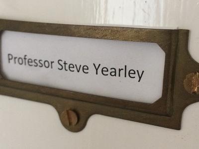 Prof. Steve Yearley