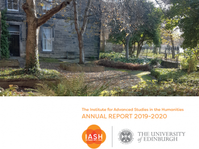 Cover for the 2019-20 IASH Annual Report
