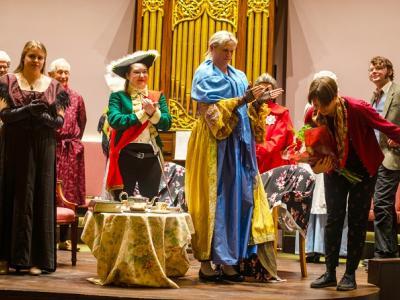 Curtain Call at Princess Dashkova
