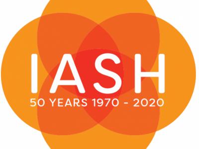 50 years of IASH logo