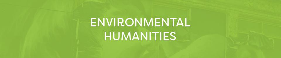 Environmental humanities